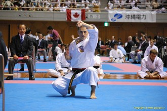 Vladimír Míček na okinawském turnaji
