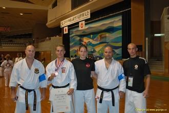 český tým na okinawském turnaji