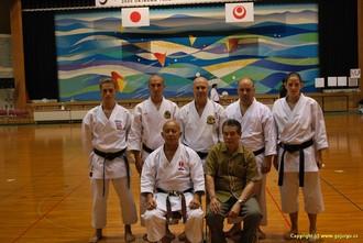 Zástupci Ryuei-Ryu a český team na Okinawě