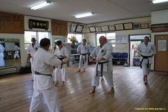 Hichiya Dojo a nácvik na zkoušky STV